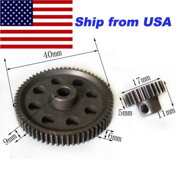 Hardened Steel Spur Gear 64T Pinion 26T for 1 10 Redcat Racing Volcano EPX PRO $9.99