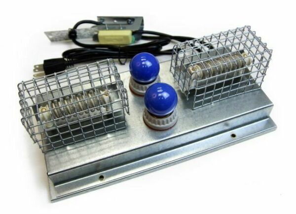 NEW GQF 0537 Replacement Heater amp; Thermostat for Poultry Box Brooder 110V $114.97