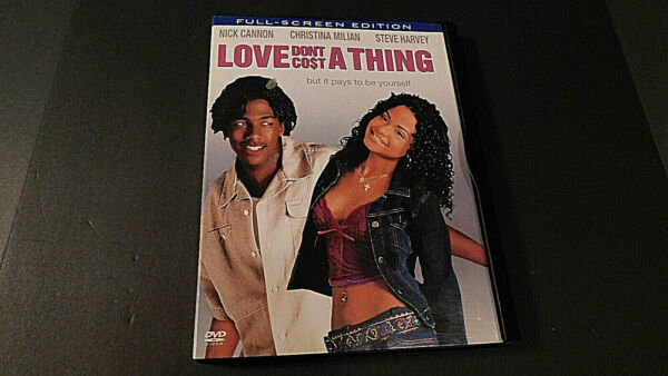 Love Don#x27;t Cost a Thing DVD 2004 Full Screen FREE Shipping $5.22