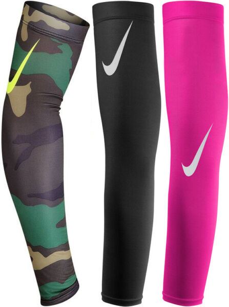 NWT Nike Football Adult Pro Arm Sleeves 2 DRI FIT Compression