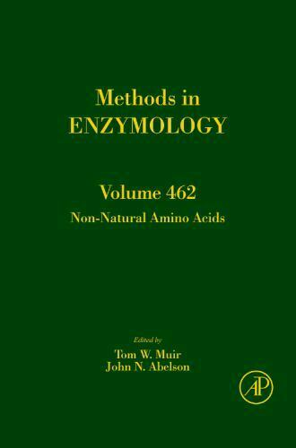 Non Natural Amino Acids Volume 462 Methods in Enzymology Hardcover Muir ..