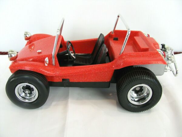Cox Dune Blaster Gas Powered .049 Vintage Red Meyers Manx VW Car Dune buggy 70#x27;S