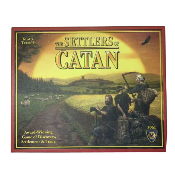 The Settlers of Catan Board Game Mayfair Games 100% Complete Open Box