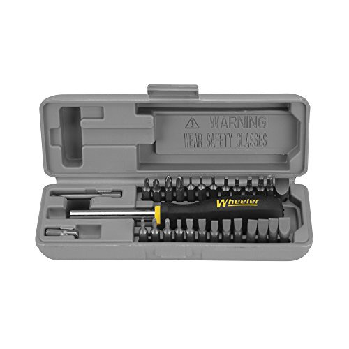 Wheeler Space Saver Gunsmith Screwdriver Set