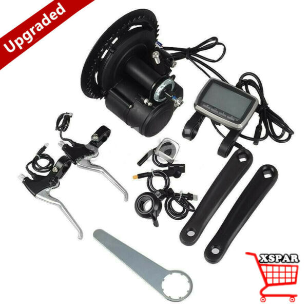 36V 350W Electric Bicycle Motor Conversion Mid Drive Kit e Bike DIY Upgrade xr* $445.00
