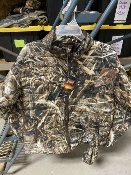 Gamehide Mens Camo Hunting Synthetic Down Jacket Size Large Style DPJ