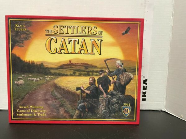 The Settlers of Catan Board Game Mayfair Games 4th Edition #3061 100% Complete