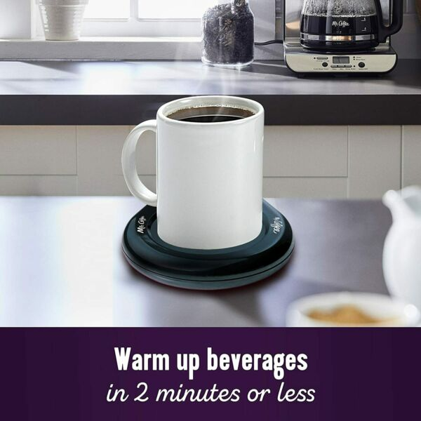 Mr. Coffee Mug Warmer for Office Home Use Teas Hot Beverage Soup New in Box