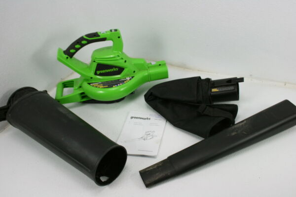 SEE NOTE Greenworks 24312 40V 185 MPH Variable Speed Cordless Leaf Blower Vacuum