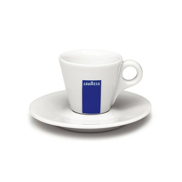 Original Lavazza Espresso Cup and Saucer Set 1 dozen