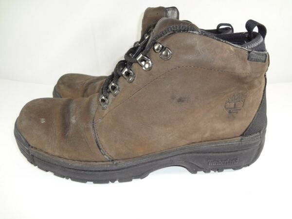 Vintage Timberland Hiking Boots Leather Style 75107 Men#x27;s Size 11.5 M $33.97