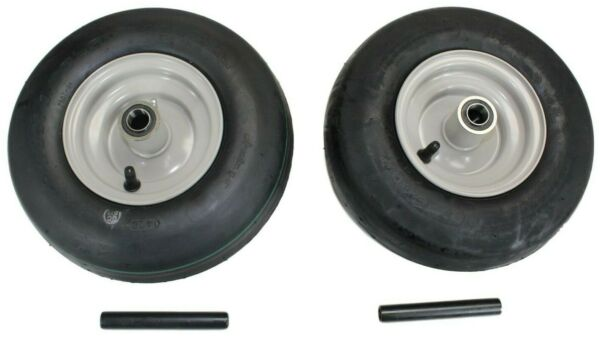 Set of 2 Gravely Ariens Pneumatic 11x4.00 5 Light Gray Assys replaces 07100124