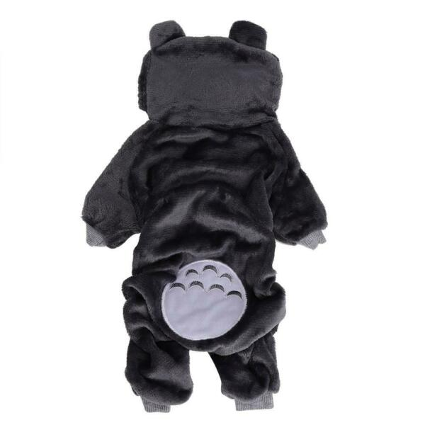 Coral Fleece Pet Clothes Cartoon Costumes Winter Clothing Dog Cat Outfit NEW $11.67