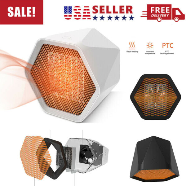 1000W Mini Ceramic Electric Heater Home Office Space Heating Portable *US STOCK* $13.99