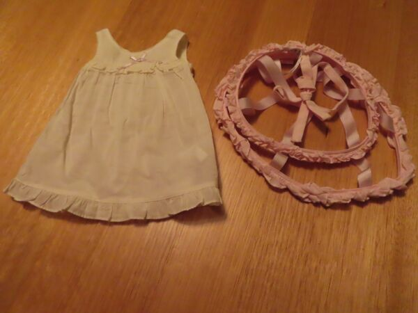 American Girl Doll Retired Cecile amp; Marie Grace Crinoline and Chemise
