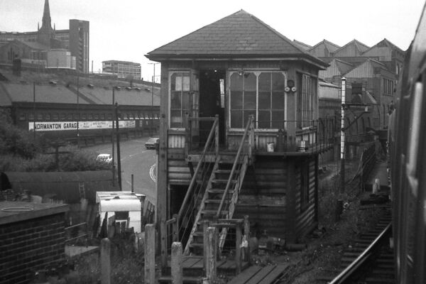 Old Signal Box Nunnery Single Line Sheffield South Yorks Rail Photo