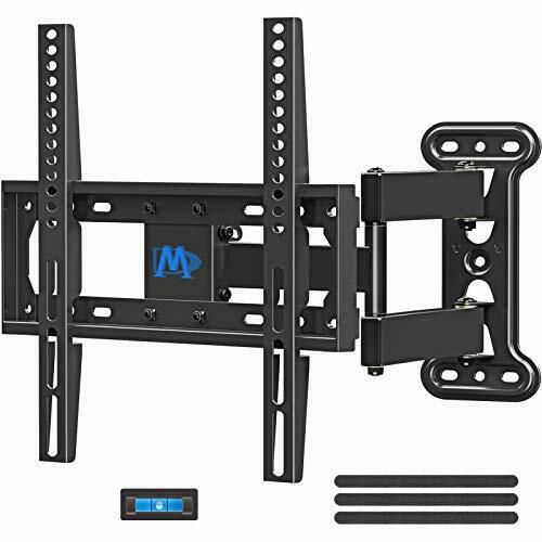 TV Mount Wall Swivel and Tilt 26 55 in TV Perfect Center Design Articulating Arm $39.96
