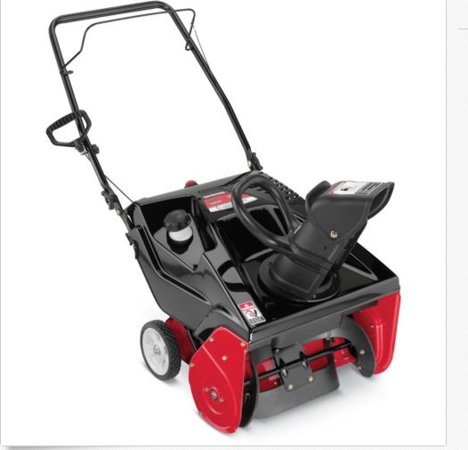 Troy Bilt 21quot; 123cc Single Stage Gas Snow Blower