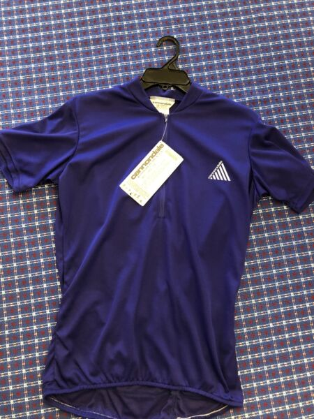 Vintage Cannondale Bike Jersey New With Tag Still Attached $100.00