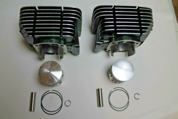 Yamaha RD350 Cylinder Replacement Kit Pistons Rings Wrist Pins 1973 1975 $229.50