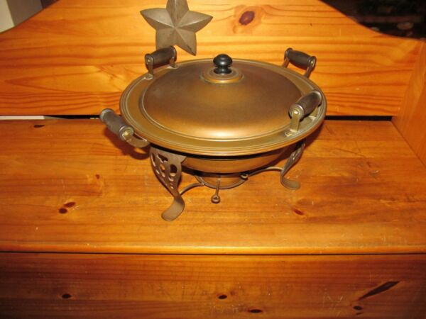 Copper amp; Brass Vintage Mid Century Buffet Chafing Dish