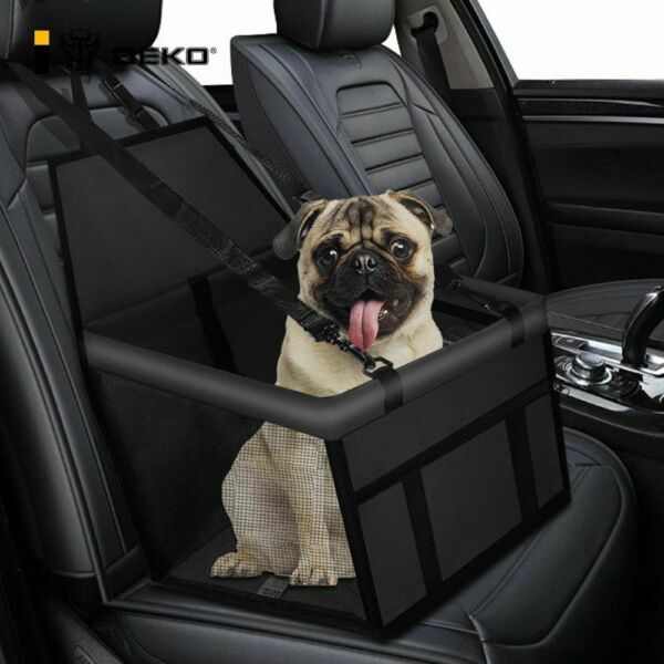 Dog Car Seat Hammock Front Carriers Mesh Waterproof Protector Travel Pets Bed $24.69