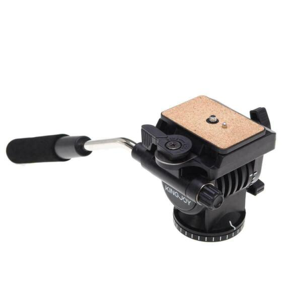 Kingjoy VT 1510 Fluid Tripod Head with Quick Release