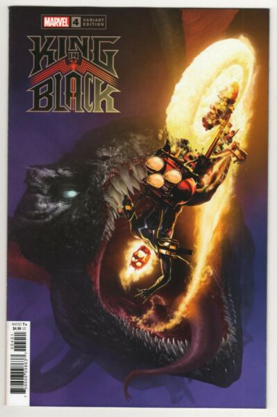 KING IN BLACK 4 1:50 DRAGON RAHZZAH VARIANT COVER DONNY CATES MARVEL COMICS*