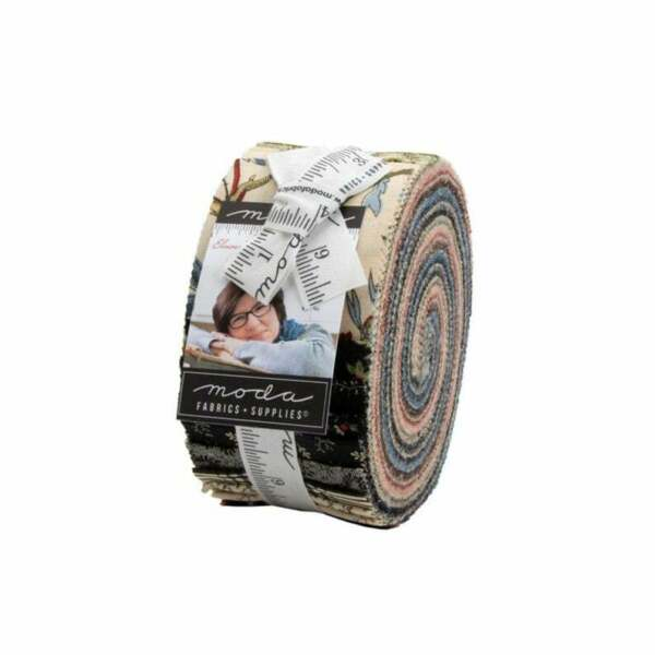 Elinore#x27;s Endeavor Jelly Roll Moda Fabric 40 2.5 inch strips pre cut quilt