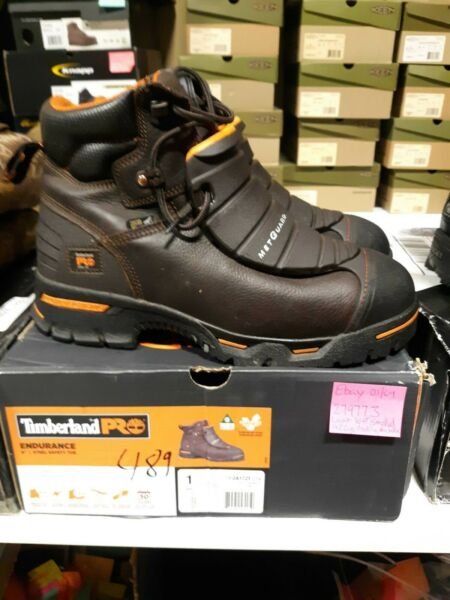 Men#x27;s Timberland PRO Endurance ST Met Guard Boots 11 W FREE SHIPPING #489 $149.99