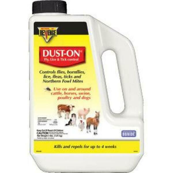 Revenge Dust On Fly Lice Tick Control for Livestock Poultry Dogs 4 Pounds $21.75