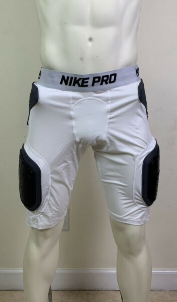 Nike Sport Hyperstrong Men's Football Shorts Girdle White