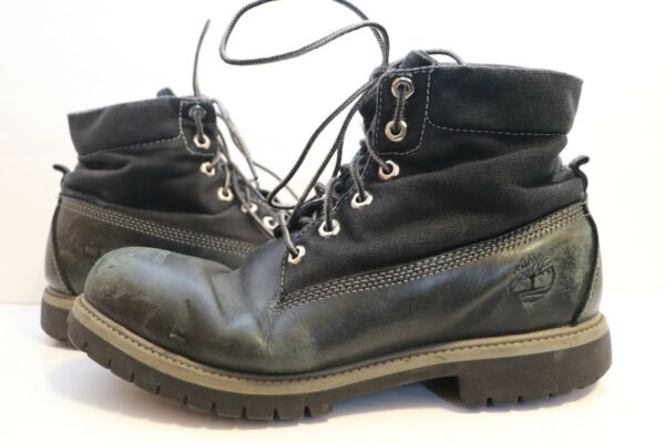 Timberland Black Leather s Men Size 10 M $39.99