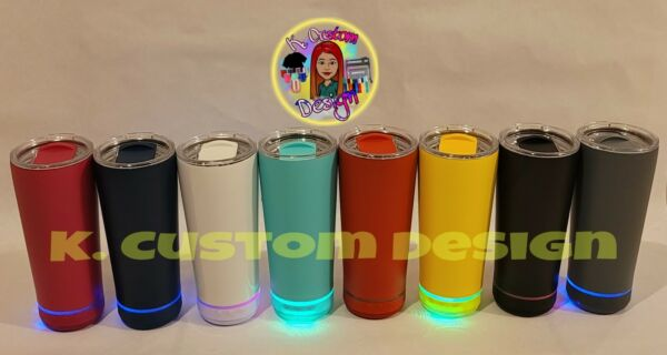 Cup Bluetooth Speaker Tumbler Stainless Steel Double Wall Insulated Vaso Bocina $38.00