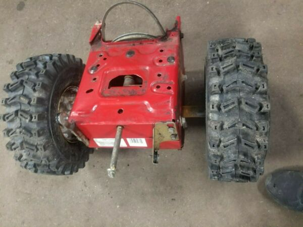 26 inch Craftsman snow blower Model 247.889701 Complete Gear Box with wheels