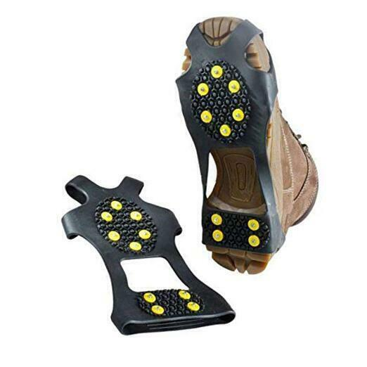Ice Shoes Grippers Cleats for ShoesIce Snow Grips Traction Cleats for Men Wome $19.07