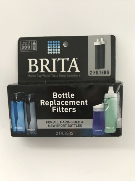 Brita Bottle Replacement Filters 2 In Box Unopened