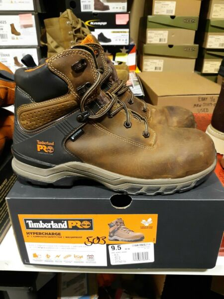 Men#x27;s Timberland PRO 6quot; Hypercharge CT WP Boots 9.5 M FREE SHIPPING #503 $149.99