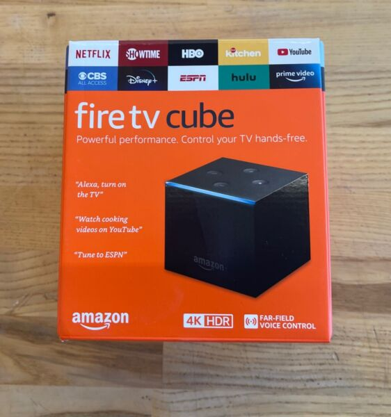 Amazon Fire TV Cube 4K HDR 2nd Gen