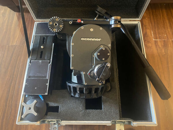 Oconnor 2575 Pro Tripod Head EuroplatePro HardCase Fully Serviced 3 1 2021