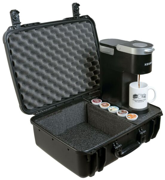 Case Club Keurig K Mini Coffee Maker Case Also Holds 2 Mugs and 5 K Pods