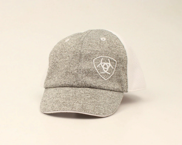ARIAT INFANT BABY LOGO GREY WHITE HATS CAP A300008206 $12.00