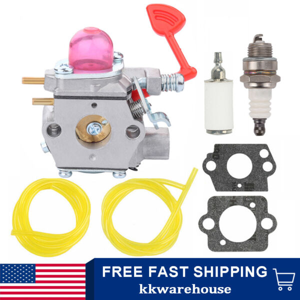 Carburetor Kit For Craftsman 358794650 25CC 210Mph 450 Cfm Gas Blower 545081855 $10.99