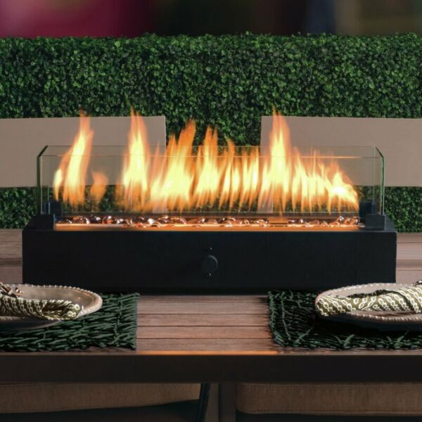 Bond 20quot; Outdoor Tabletop Gas Fire Pit Table Top Propane Fireplace Heater NEW