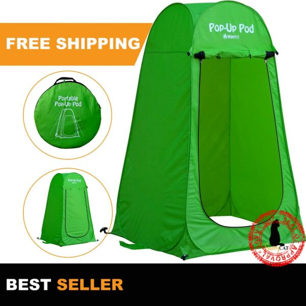 Pop Up Pod Changing Room Privacy Tent Instant Portable Outdoor Shower Tent Camp $29.50
