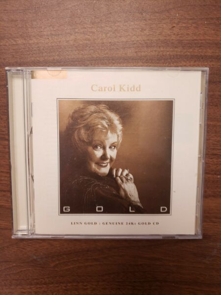 Gold by Carol Kidd 24k Gold Disc LINN Records Rare Audiophile Fast Shipping