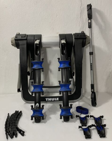 Thule Raceway Pro 3 Bike Trunk Rack FOR PARTS NOT WORKING MISSING KEYS $140.00