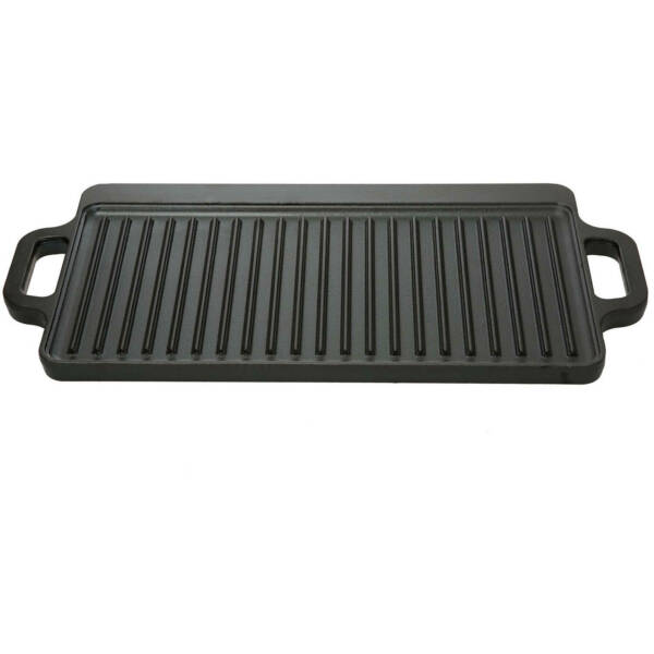 Ozark Trail 9 in Cast Iron Griddle Reversible 16.5 x 9 in Black Dishwashers