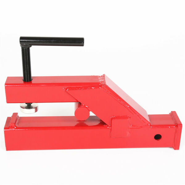 Upgraded Clamp On Trailer Hitch Ball Mount Receiver For Bobcat Tractor Bucket $49.90