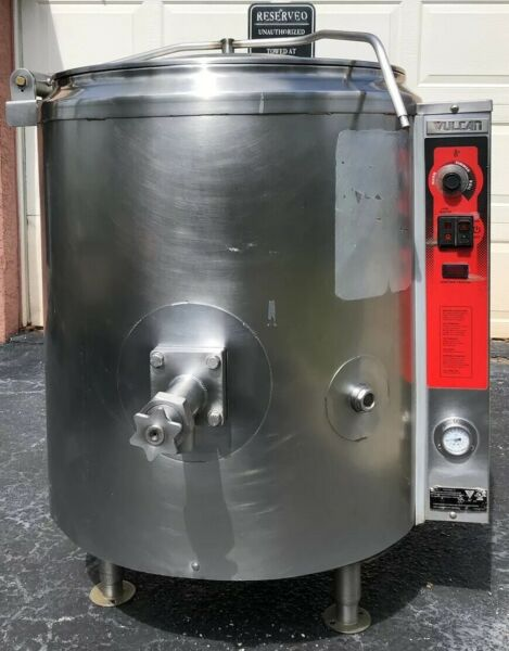 Vulcan Gas Steam Jacketed Kettle 40 Gallons Hobart FREE SHIPPING $3599.99